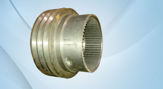 Drum Pulley with Teeth Cuting