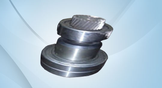 Helical Gear with Bearing