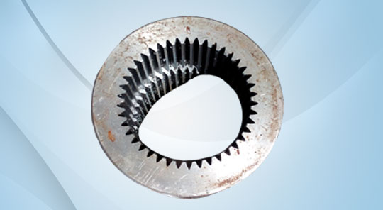 Muff Coupling with Pinion Gear